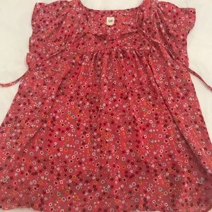 Gap loose floral blouse